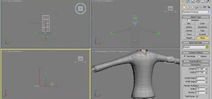 Create a cloth cape for a superhero in 3ds Max