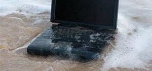 Fix a wet laptop