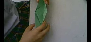 Origami a quick and simple boat