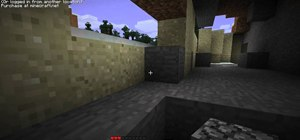 Survive Minecraft beta 1.6.'s first day of gameplay