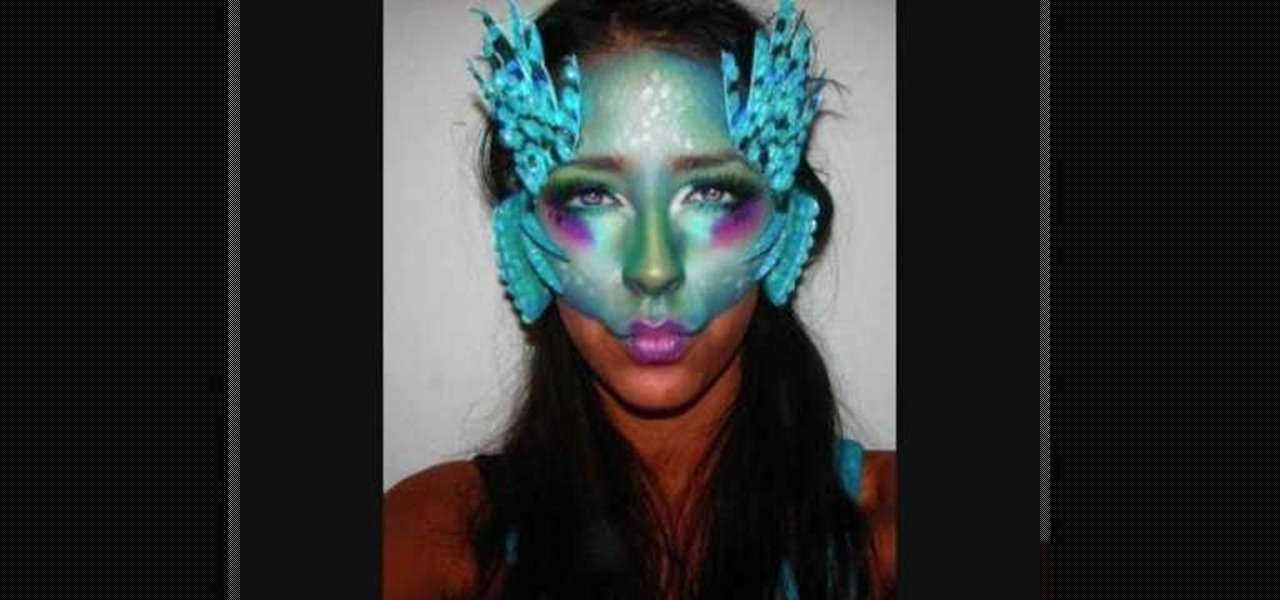 How to Get a Zelda Zoras inspired makeup look for Halloween ...