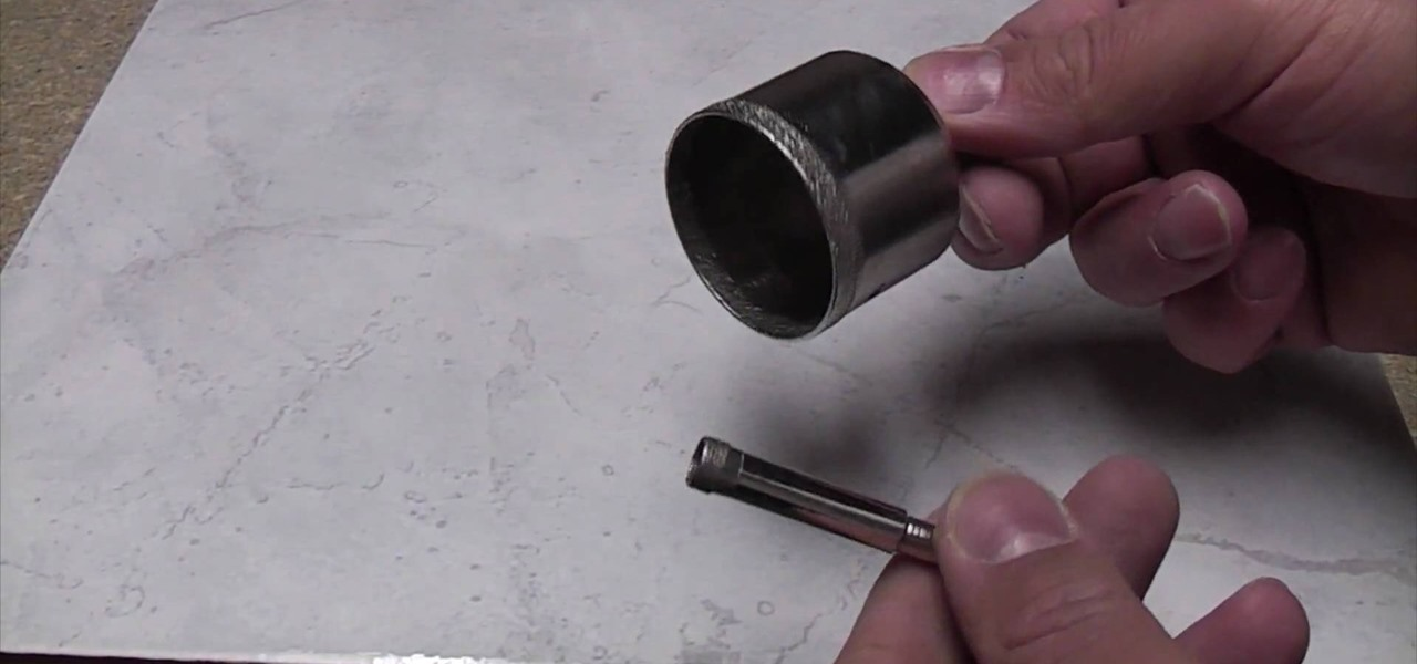 how to drill porcelain tile like a repair wonderhowto
