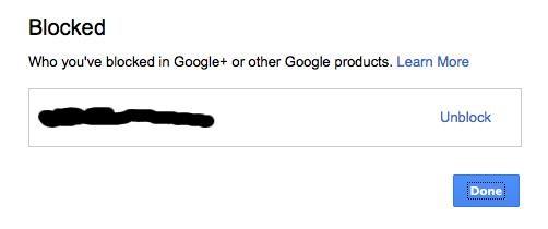 Google+ Makes Blocking People Even Easier