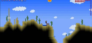Farm waterleaf seeds in Terraria 1.0.5
