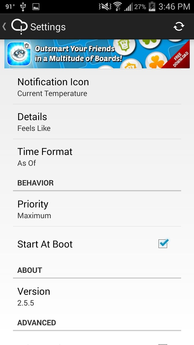 How to Get Weather Forecasts in the Notification Shade on Your Samsung