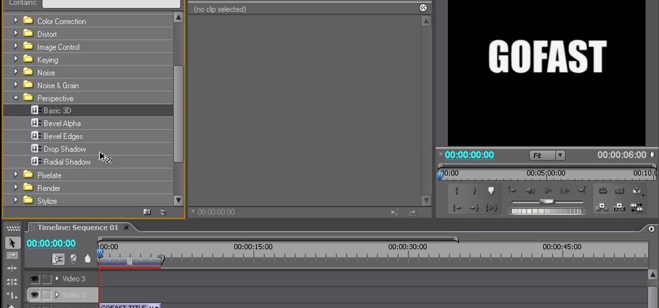 How to create 3d moving titles using adobe premiere pro adobe how to create 3d moving titles using adobe premiere pro adobe premiere wonderhowto ccuart Choice Image