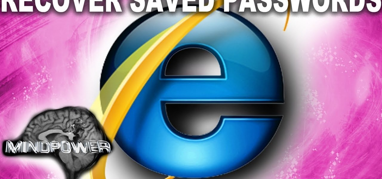Retrieve Saved Passwords from Internet Explorer