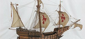 Recreate Models of Christopher Columbus's Sailing Ships from 1492