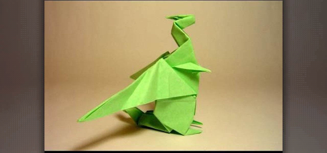 Origami Easy Cool Dragon