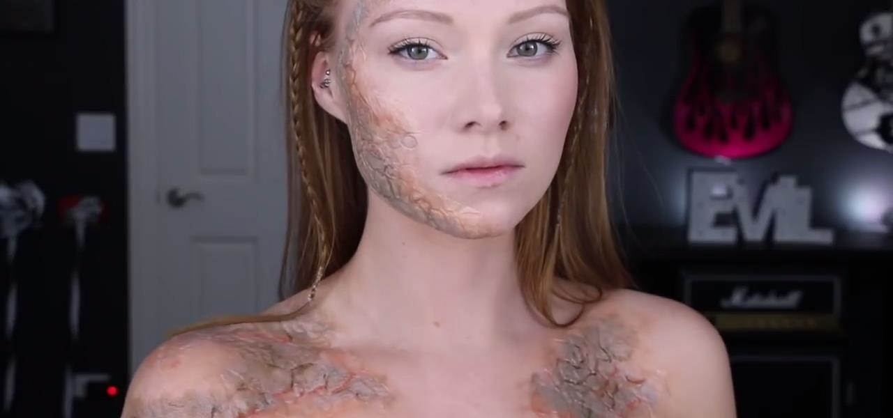 Infect Yourself with Greyscale from 'Game of Thrones' for Halloween (Makeup Guide)