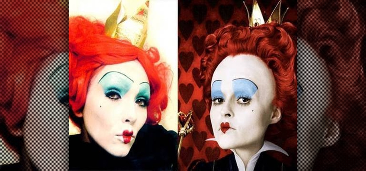 how to be the queen of hearts from alice in wonderland for halloween makeup wonderhowto