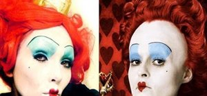 "Be the Queen of Hearts from ""Alice in Wonderland"" for Halloween"