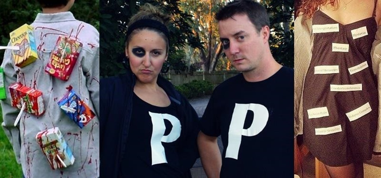 12 Genius Last-Minute No-Sew Costumes for Halloween