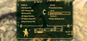 Find the rare weapon Nephi's Golf Driver in Fallout New Vegas