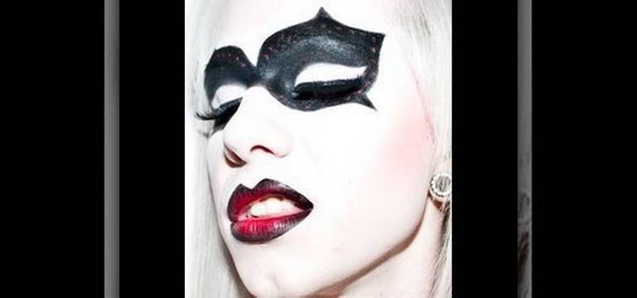 How to Do your makeup like Harley Quinn from Batman: Arkham Asylum for Halloween « Halloween Ideas :: WonderHowTo