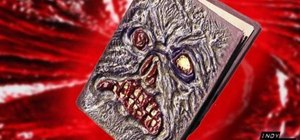 "Make a Necronomicon prop from the ""Evil Dead"" series"