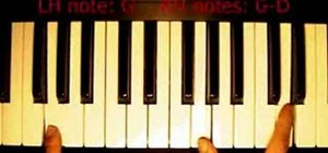 "Play ""Wait"" by Danny Chan on piano"