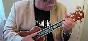 "Play ""My Blue Heaven"" on the ukulele"