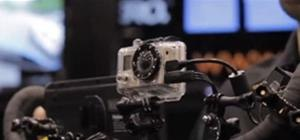 NAB 2010 - GoPro with HD output to a Monitor