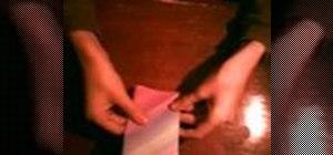 Origami a Sumo Wrestler
