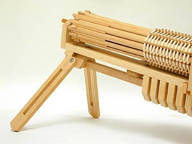 The Ultimate Armory of Rubber Band Guns, Complete with 504-Round Gatling