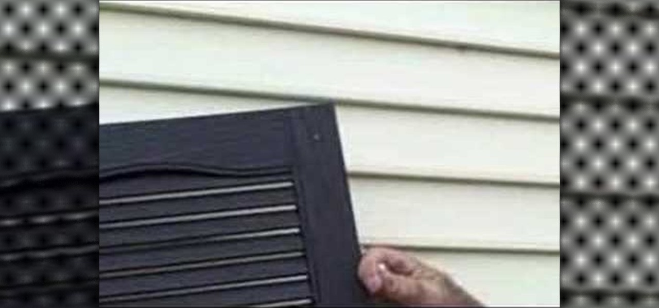 How To Install Shutters To Your Home Exterior Construction Repair