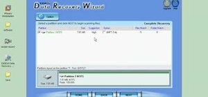 Restore files in Windows using Data Recovery Wizard