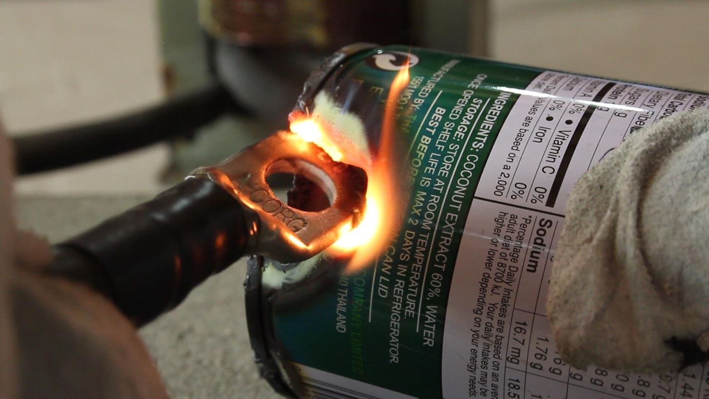 How to Melt Metal with a Modified Microwave Oven Transformer