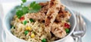 Make honey & sesame seed chicken