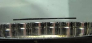 Levitate thin diamagnetic pencil lead with neodymium magnets