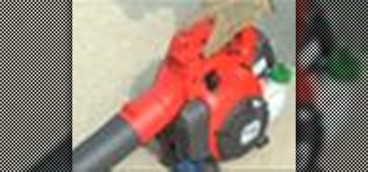 How To Start A Stihl Blower Or Any Other Leaf Blower Tools