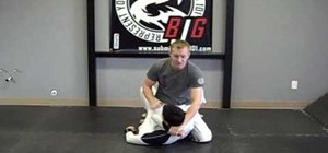 """Thread the needle"" in Jiu Jitsu (arm bind and choke)"