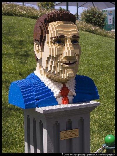 LEGO Arnold Schwarzenegger