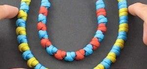 Easily tie paracord prayer beads