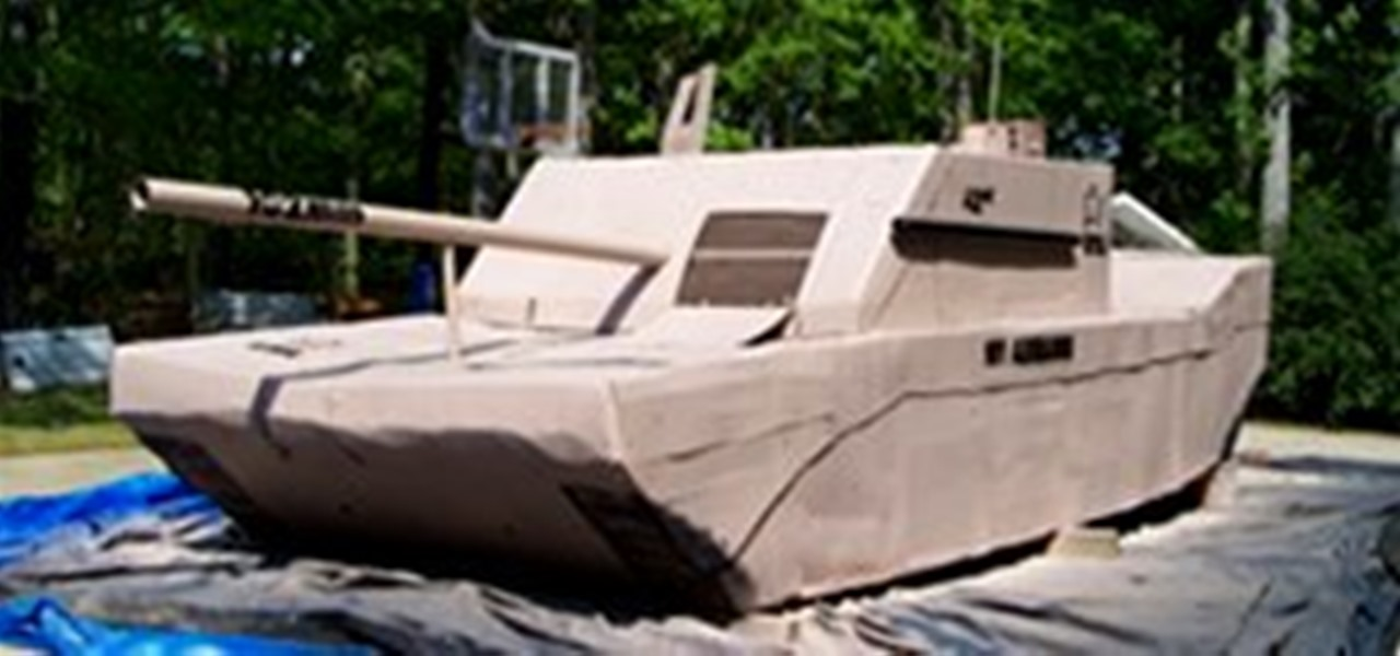 Friday Fresh Build Your Own Life Sized Army Tank Out Of