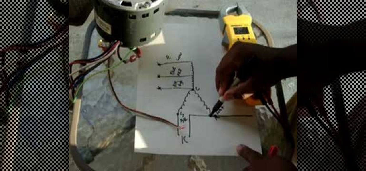 How To Bench Check A Central Air Conditioner Blower Motor