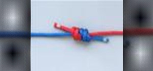 Tie the Double Fisherman's Bend Knot for climbing
