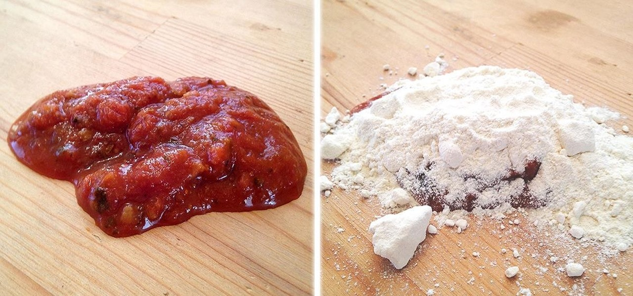 Clean Up Liquid Spills More Easily with Flour