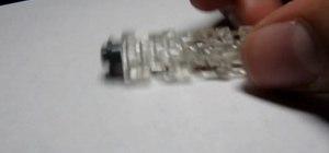 Build a LEGO Matrix bullet