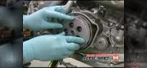 Replace the clutch for a motorcycle and ATV
