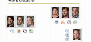 Create a Team Site within SharePoint 2010