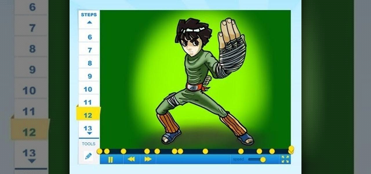 Draw Rock Lee (Naruto)