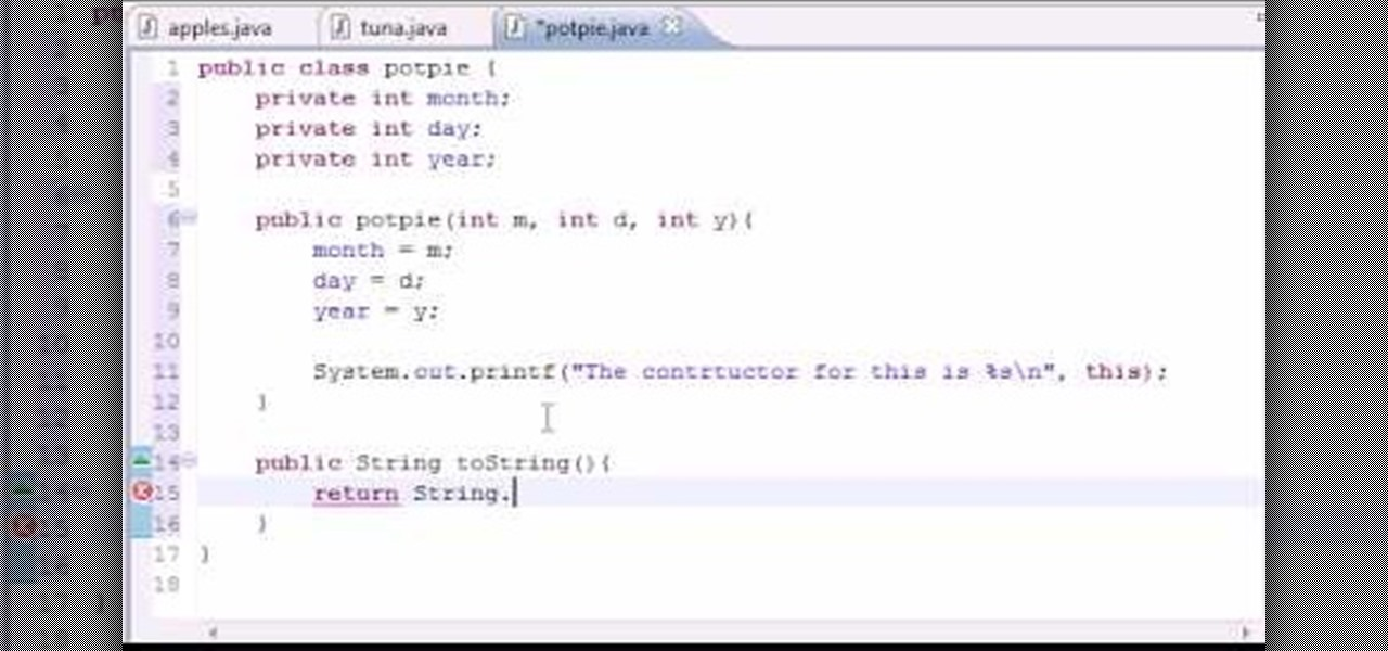 How To Use The Tostring Method When Java Programming
