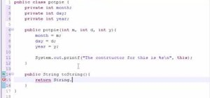 Use the toString method when Java programming