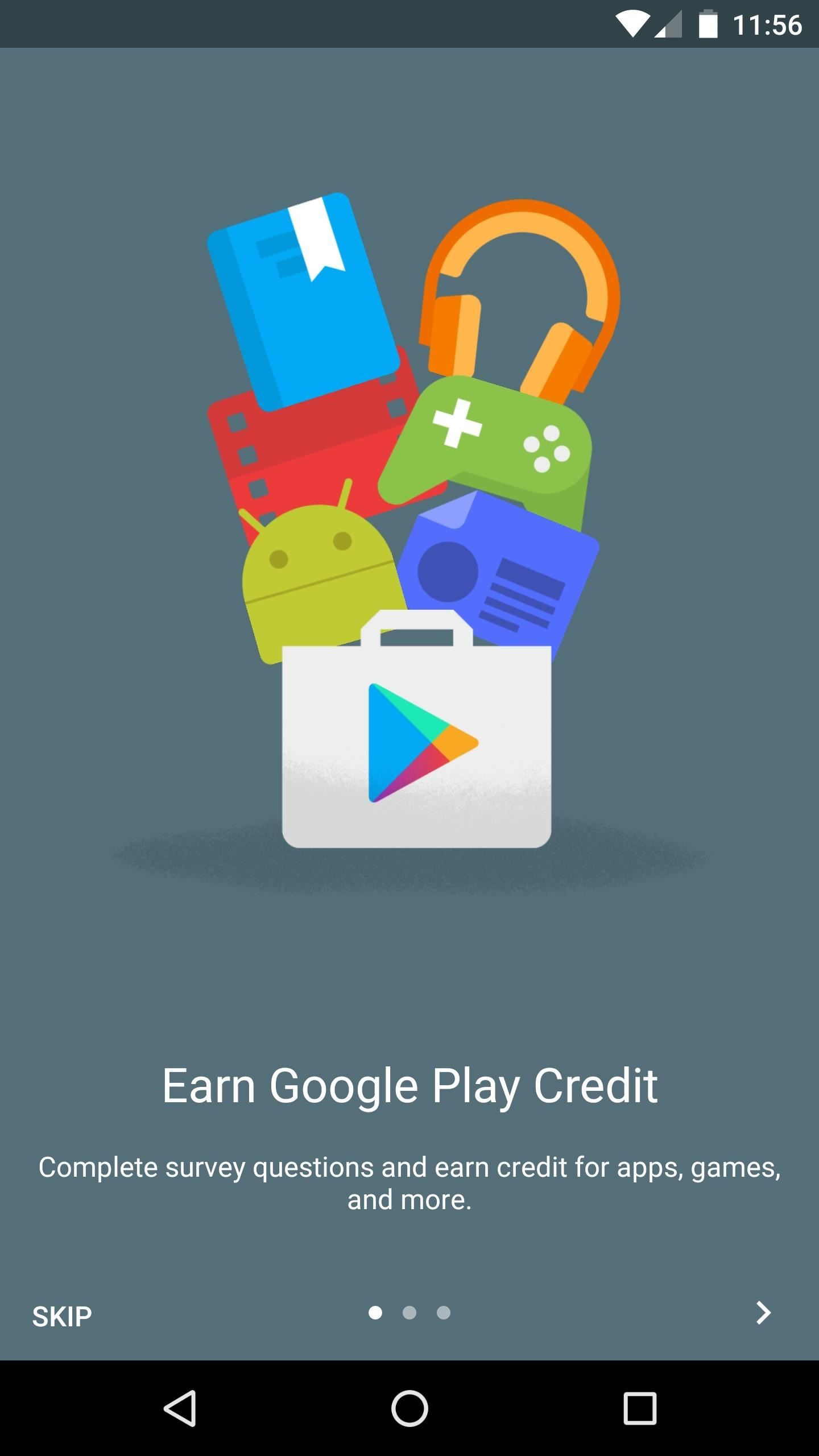 Earn Play Store Credits by Getting Google Opinion Rewards to Give You More Surveys