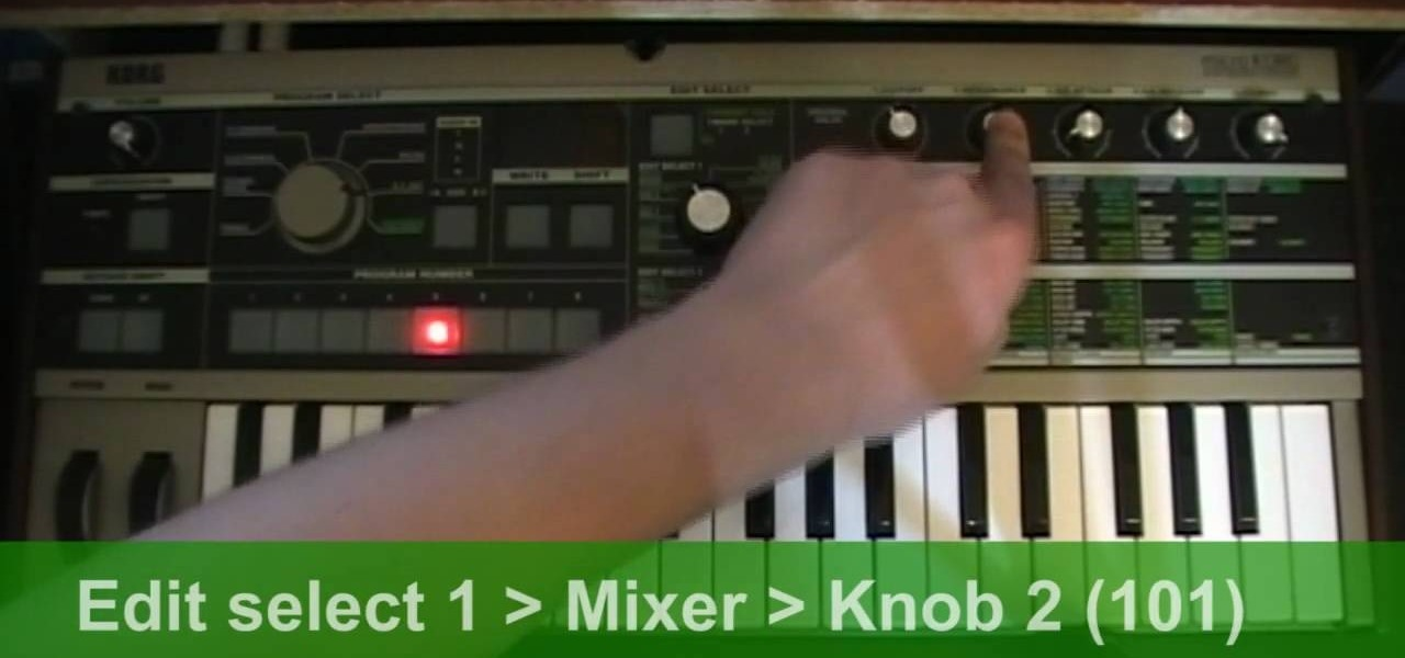 How to Patch a MicroKorg for use with a Micron BANSHEE talkbox