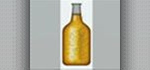 Create a realistic beer bottle in Photoshop