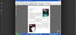 Modify PDF files in Acrobat 8