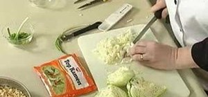 Make chinese coleslaw