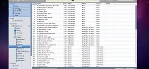 Transfer music files between computers in iTunes 9